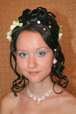 Фотогалерея-3 свадебных и вечерних причесок на короткие волосы